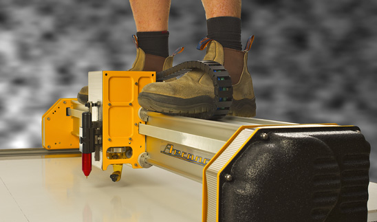 The new Mikron Cutter. Tough as old boots.
