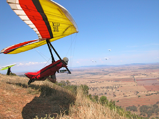 Moyes Lightspeed Hang Glider at Manilla