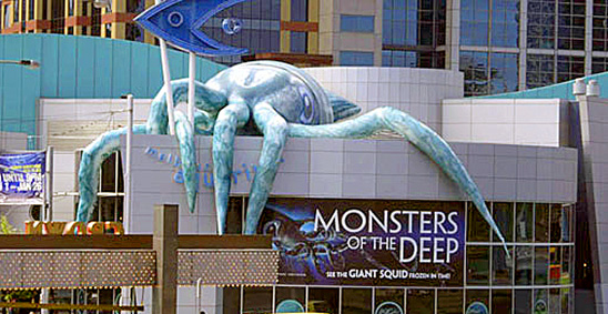 Monsters of the deep by Tiger Angel